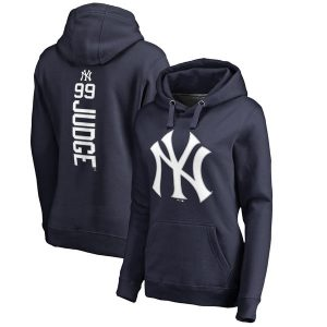 Aaron Judge NY Yankees Women's Backer Pullover Hoodie