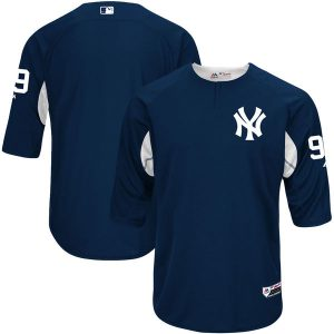 Aaron Judge Majestic Authentic On-Field Cool Base BP Replica Jersey – Navy