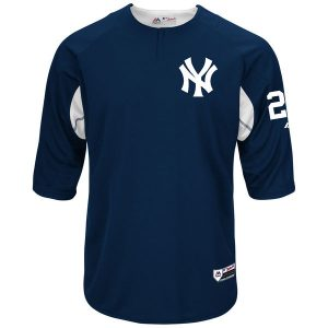 Gary Sanchez Majestic Authentic On-Field 3/4-Sleeve Player BP Jersey