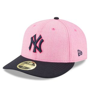 NY Yankees New Era 2018 Mother's Day On-Field Low Profile 59FIFTY Fitted Hat – Pink/Navy