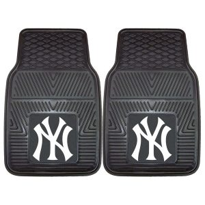 New York Yankees 27″ x 18″ 2-Pack Vinyl Car Mat Set