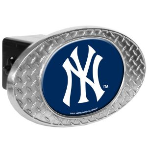 New York Yankees 2″ Oval Skid Hitch Cover