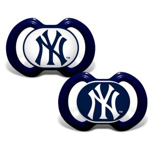 New York Yankees Infant 2-Pack Pacifiers
