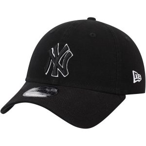 NY Yankees New Era Core Classic Twill 9TWENTY Adjustable Hat – Black