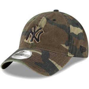 NY Yankees New Era Core Classic Twill 9TWENTY Adjustable Hat – Camo