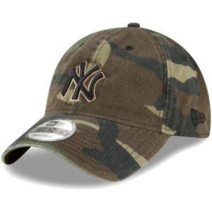 NY Yankees New Era Core Classic Twill 9TWENTY Adjustable Hat – Camo