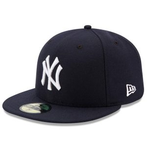 NY Yankees New Era Game Authentic On-Field 59FIFTY Fitted Hat – Navy