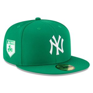 NY Yankees New Era 2018 St. Patrick's Day Prolight 59FIFTY Performance Fitted Hat