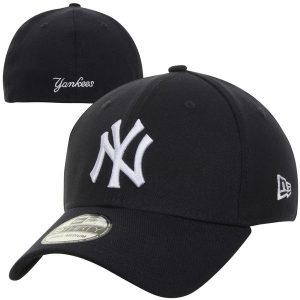 New York Yankees New Era MLB Team Classic Game 39THIRTY Flex Hat – Navy