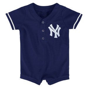 New York Yankees Newborn/Infant Replica Romper – Navy