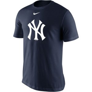 New York Yankees Nike Legend Batting Practice Primary Logo Performance T-Shirt – Navy