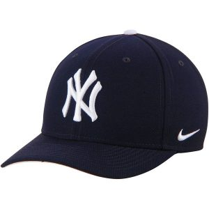 NY Yankees Nike Navy Wool Classic Adjustable Performance Hat