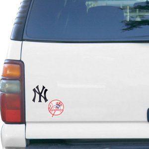 New York Yankees 5″ x 9″ 2-Pack Magnet – Navy Blue/Red