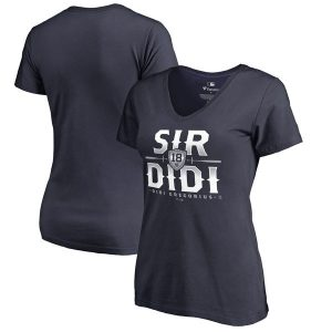 Women's New York Yankees Hometown Collection Sir Didi V-Neck T-Shirt