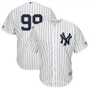 Aaron Judge Majestic Cool Base Replica Jersey – White