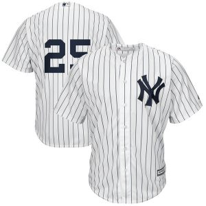 New York Yankees Gleyber Torres Majestic White Official Cool Base Jersey – Men's