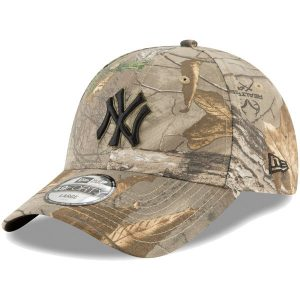 New Era New York Yankees Camo Realtree 49FORTY Fitted Hat