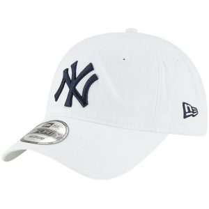 New Era New York Yankees White Core 49FORTY Fitted Hat