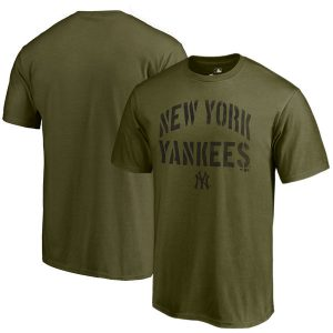New York Yankees 2018 Memorial Day Camo Collection Jungle T-Shirt