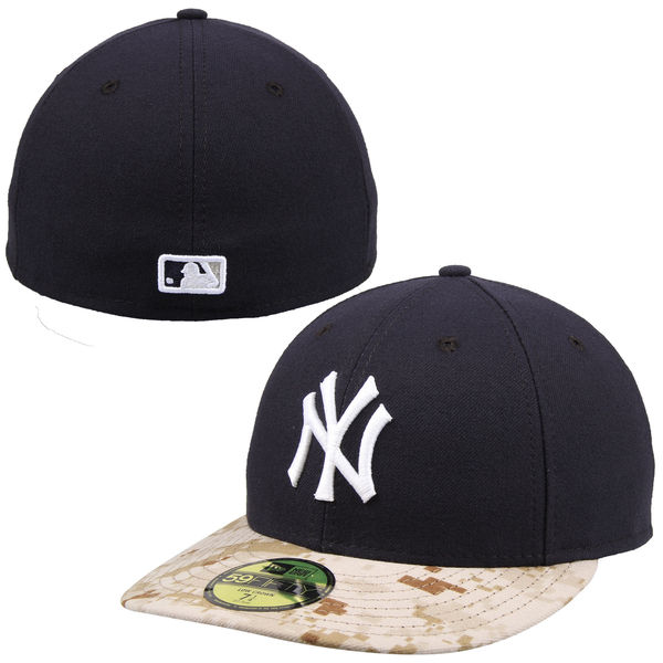 NY Yankees Navy Camo Memorial Day Stars   Stripes On-Field 59FIFTY ... ae2e9060725