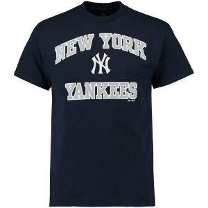 New York Yankees Navy Heart and Soul T-Shirt