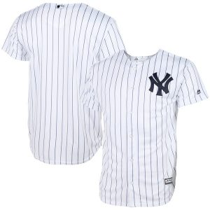 New York Yankees Youth White Official Cool Base Jersey