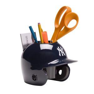 NY Yankee Helmet Desk Caddy